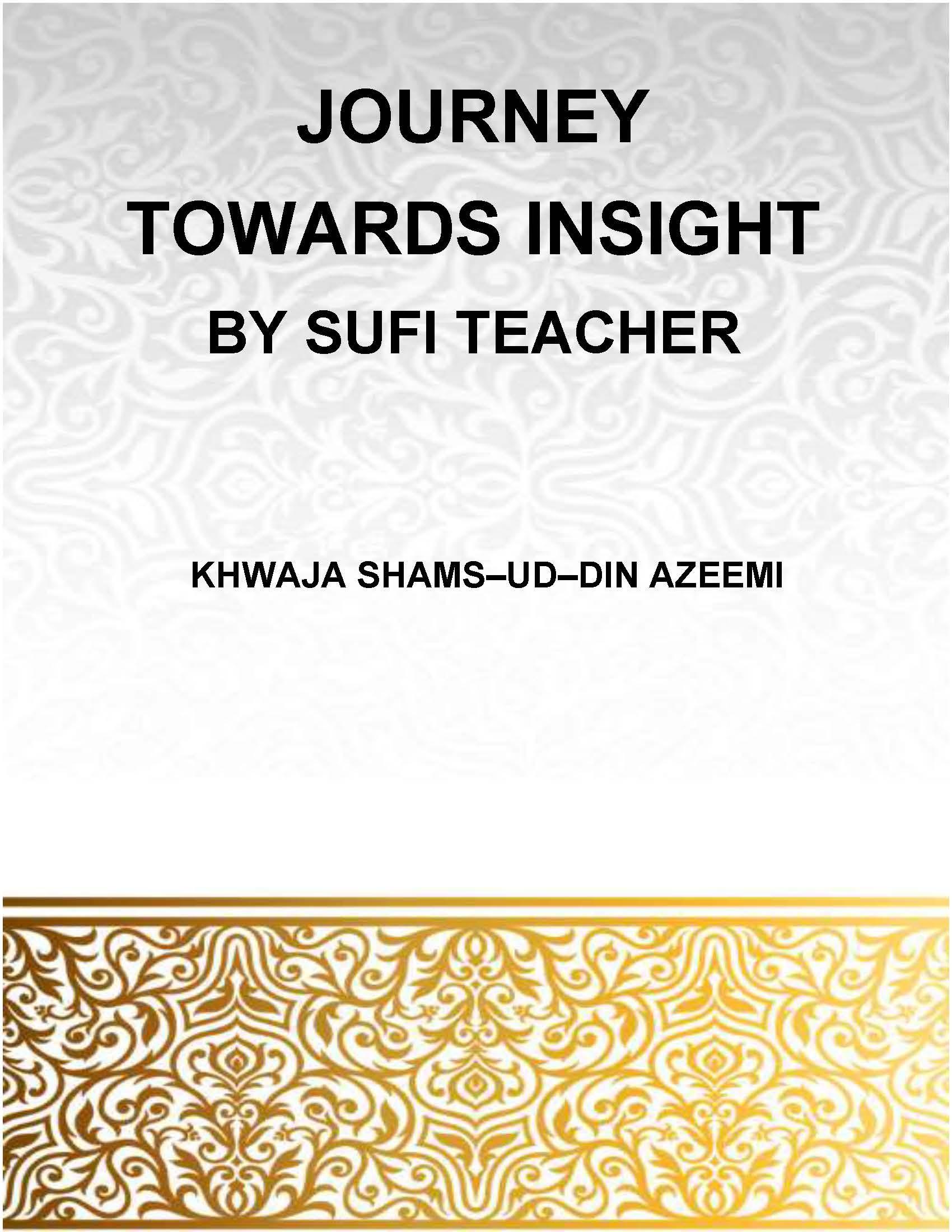 Journey Towards Insight