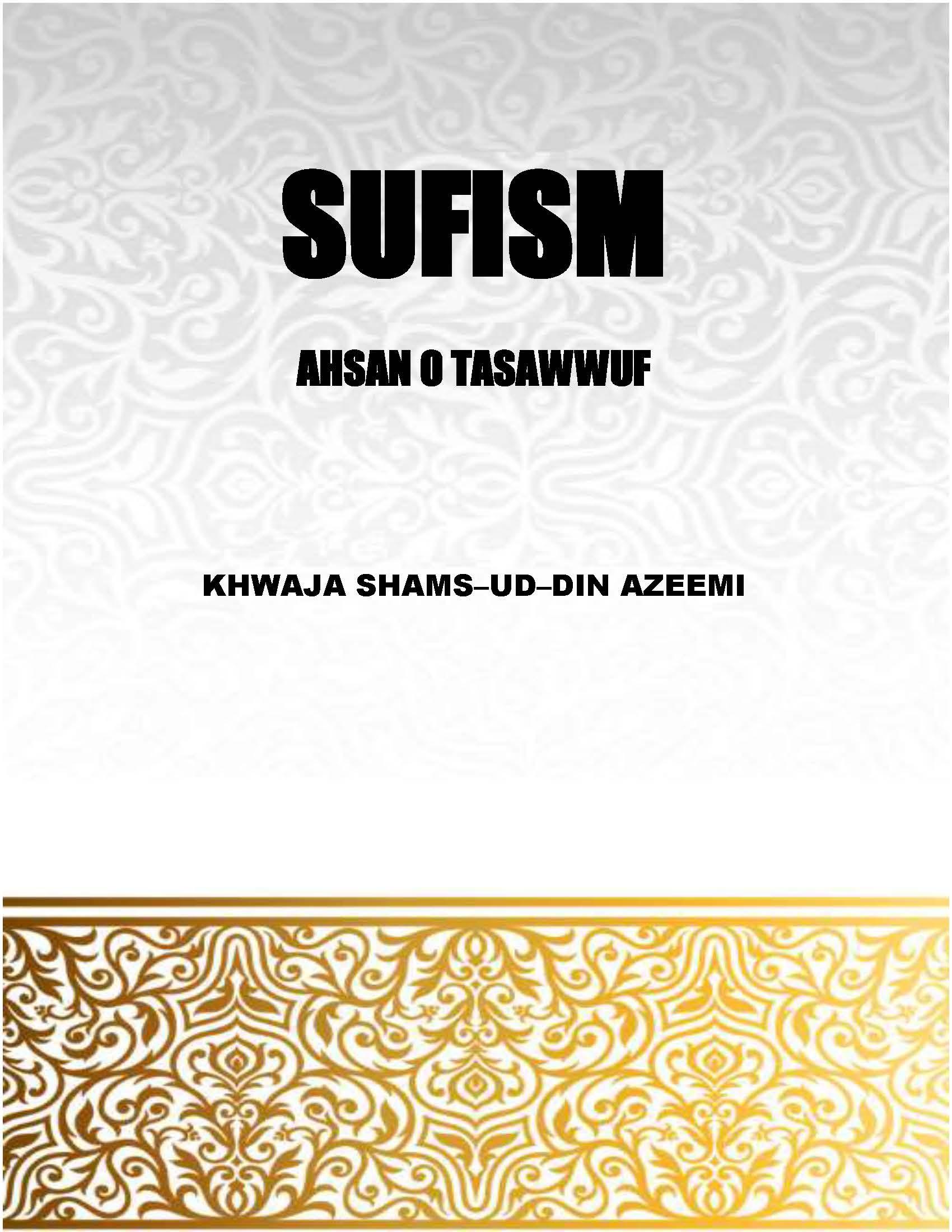 SUFISM (AHSAN-O-TASAWWUF)