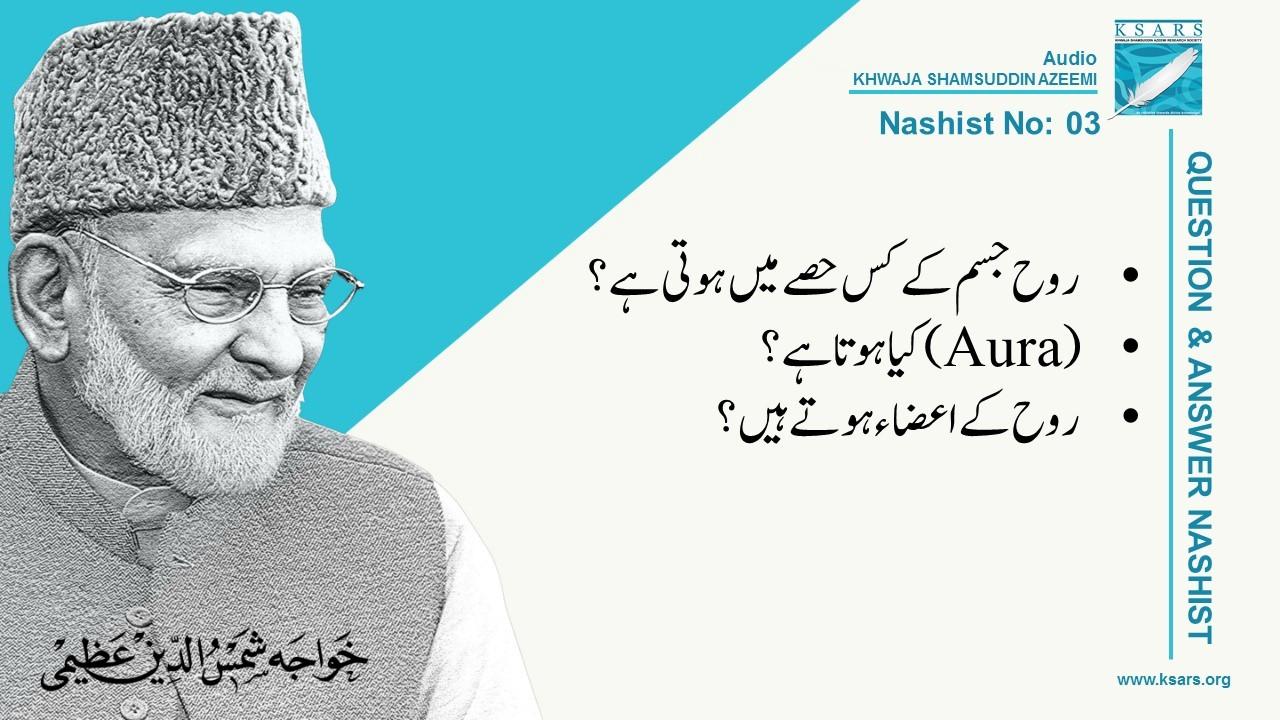 Q&A Rooh Ka Maqaam