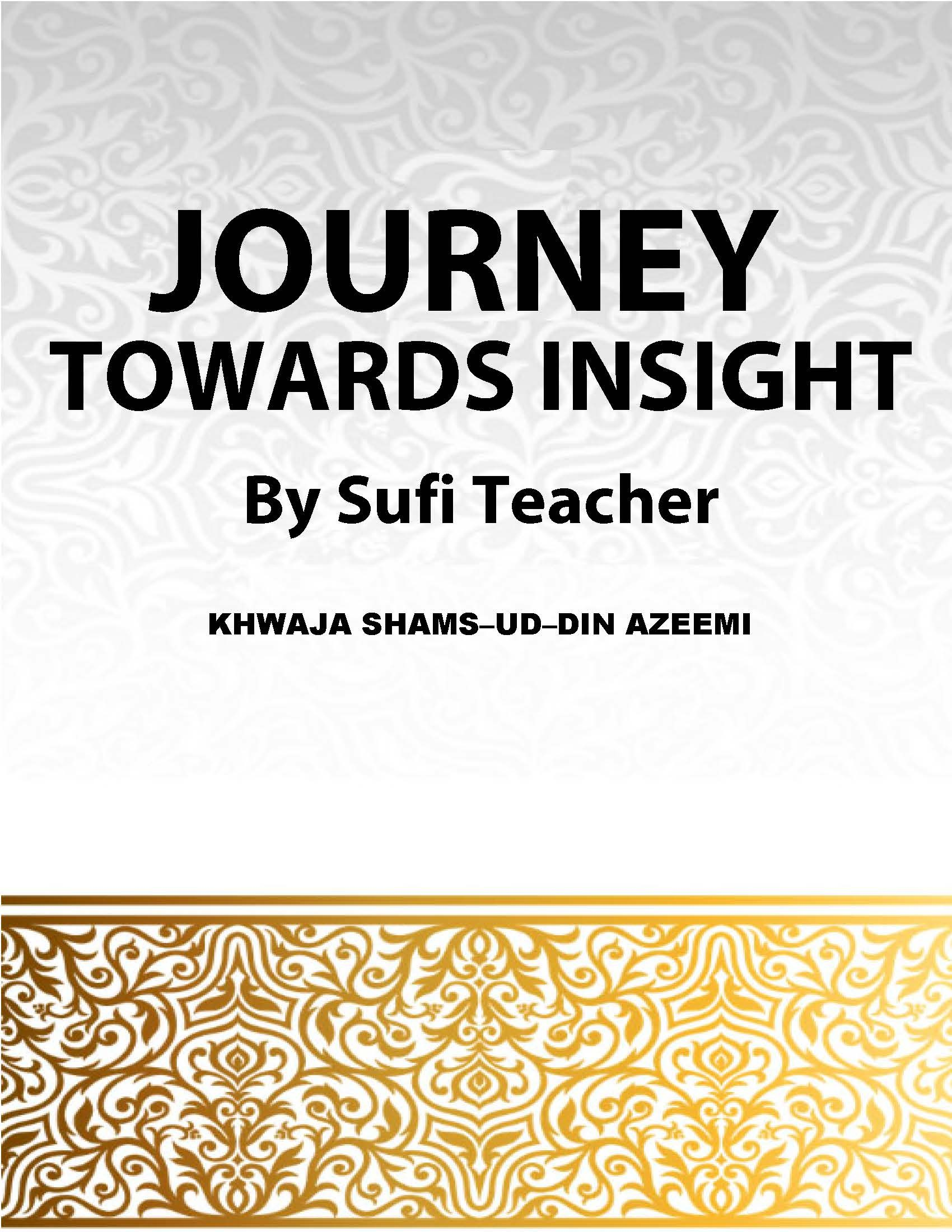 Journey Towards Insight