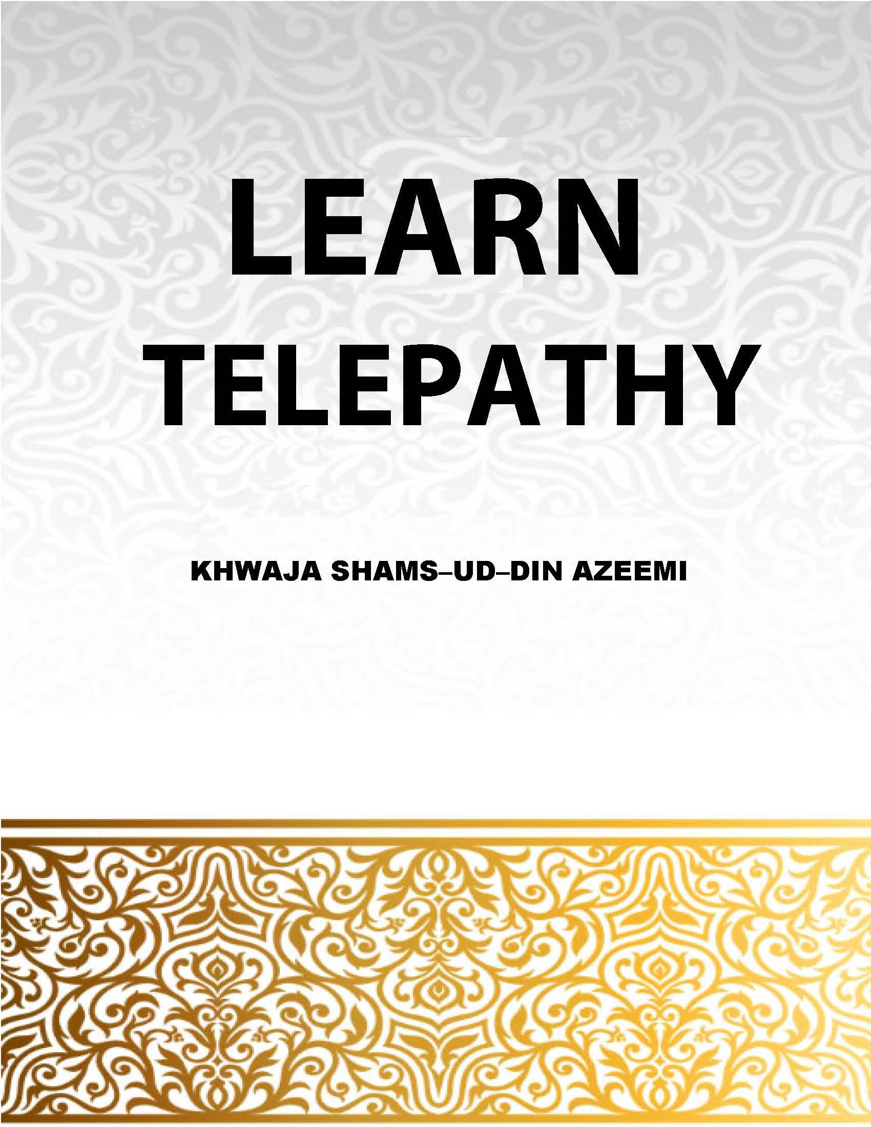 Learn Telepathy