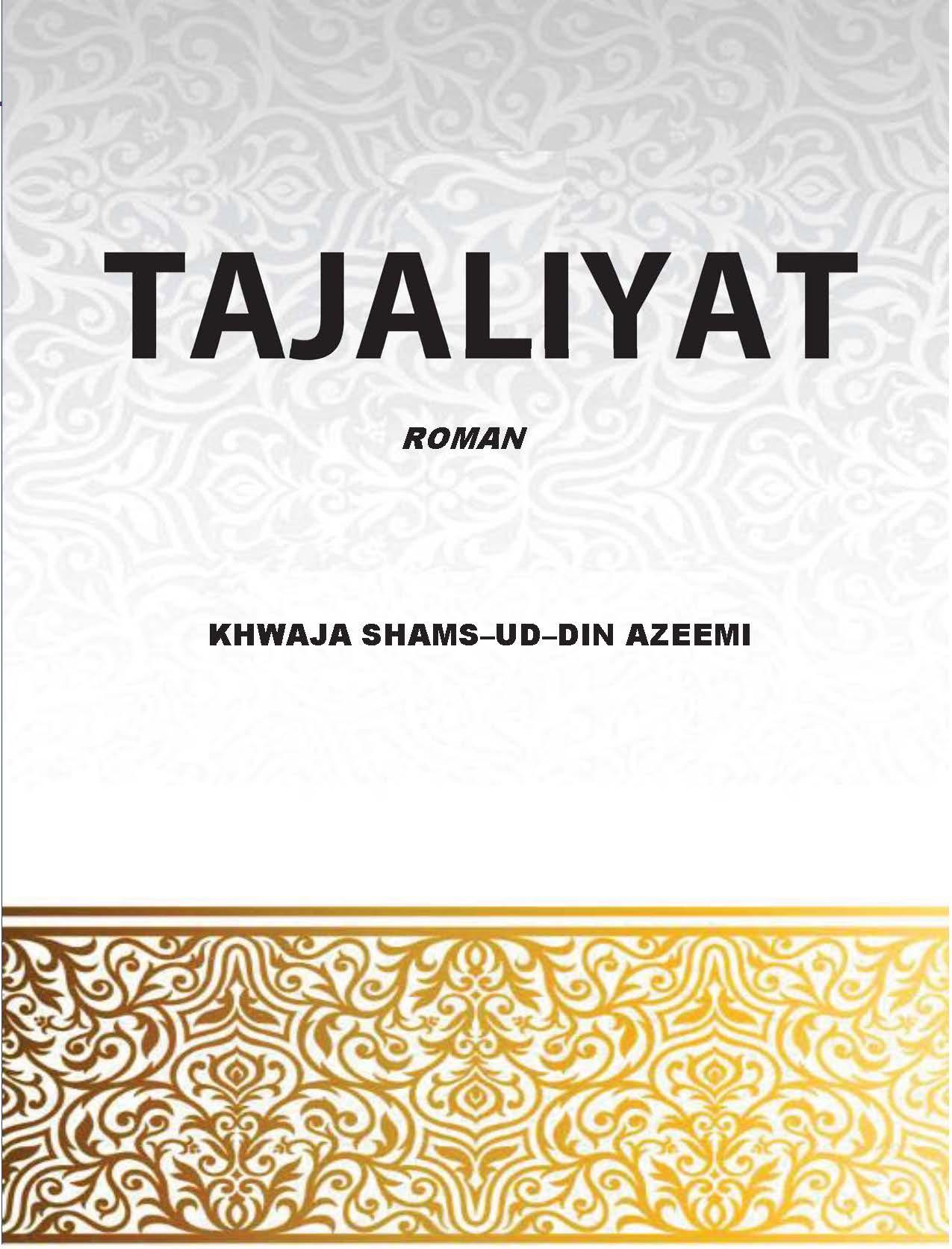 Tajaliyat - Roman