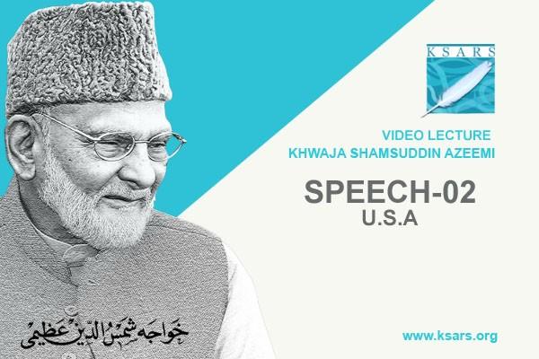 U.S.A Speech 02