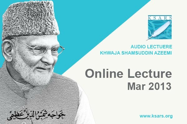 Online Lecture Mar 2013